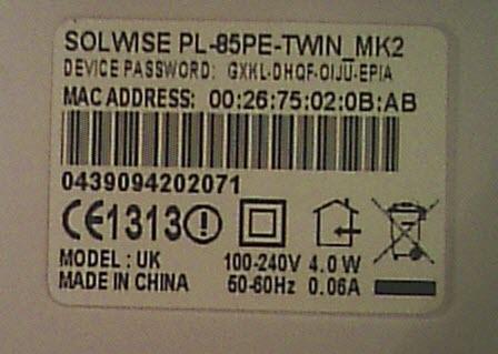 homeplug-password