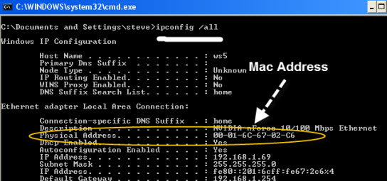 mac-address-windows