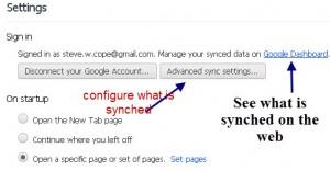 chrome-synch-settings