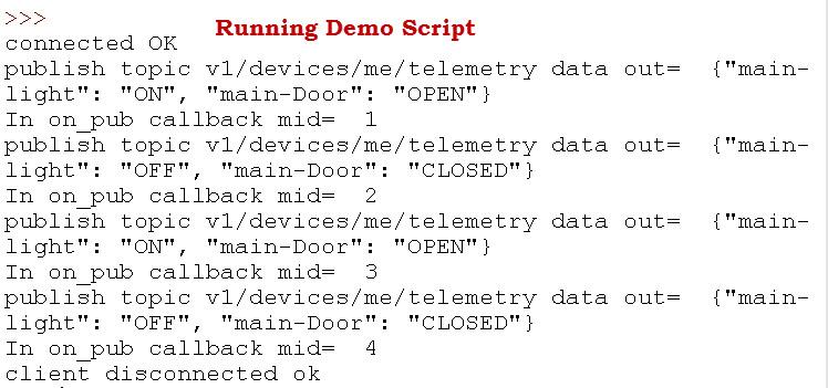 Running-Demo-Script