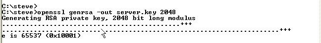 create-server-key