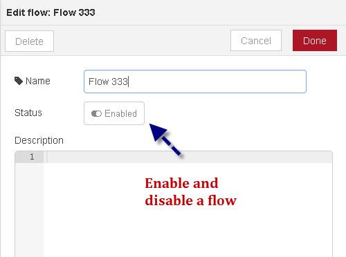 Creating Flows- Node-Red Admin Basics