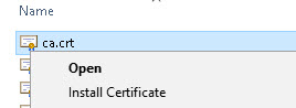 install-certificate-windows