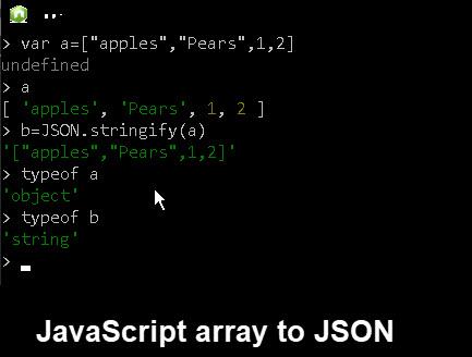 javascript-array-json