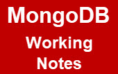 mongodb-working-notes