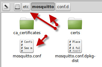 mosquitto-folder-linux