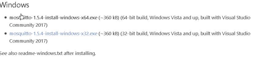 mosquitto-install-windows-binaries