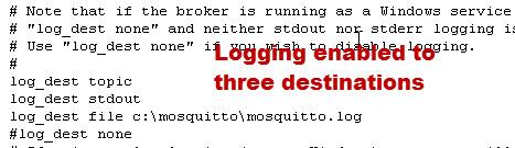 mosquitto-logging