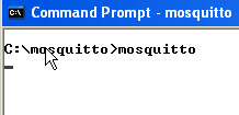 mosquitto-windows-start-manual