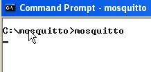 mosquitto-windows-start-manual