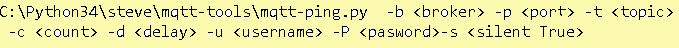 mqtt-ping-usage