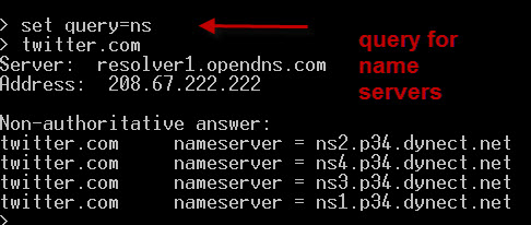 nslookup-query-name-servers