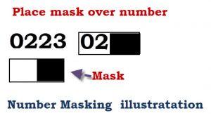 number-mask-illustration