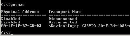 windows-network-command-getmac